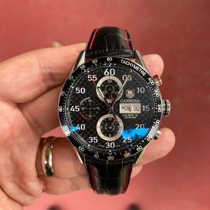 TAG HEUER CV2A10 with special carrera dial!